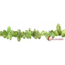 Strang Splitter Disthen (grün) 5 x 8 mm