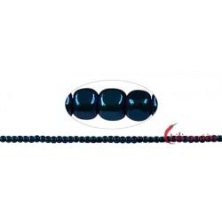 Strang Würfel gerundet Hämatin blau (gefärbt) 3 x 3 mm