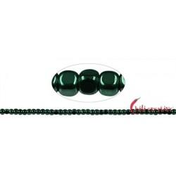 Strang Würfel gerundet Hämatin grün (gefärbt) 3 x 3 mm