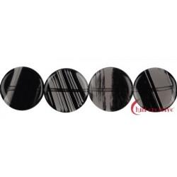 Strang Coin Obsidian (Lamellen-Obsidian) 12-15 mm
