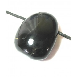 Trommelstein gebohrt Onyx