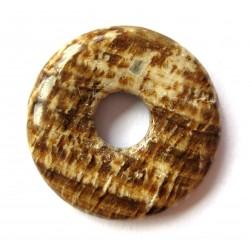 Donut Aragonit-Calcit braun 40 mm