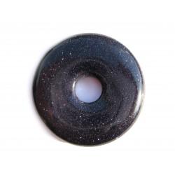Donut Blaufluss (Kunstglas) 40 mm