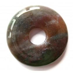 Donut Chalcedon rot-grün 30 mm