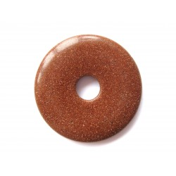 Donut Goldfluss (Kunstglas) 30 mm