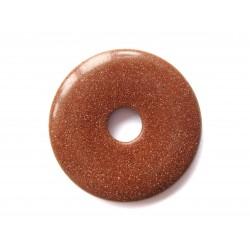 Donut Goldfluss (Kunstglas) 50 mm