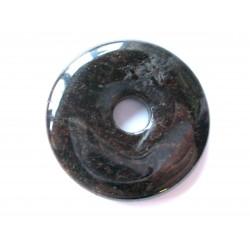 Donut Granat dunkelbraun 40 mm